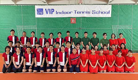 VIPインドアテニススクール東陽町 スタッフ集合写真