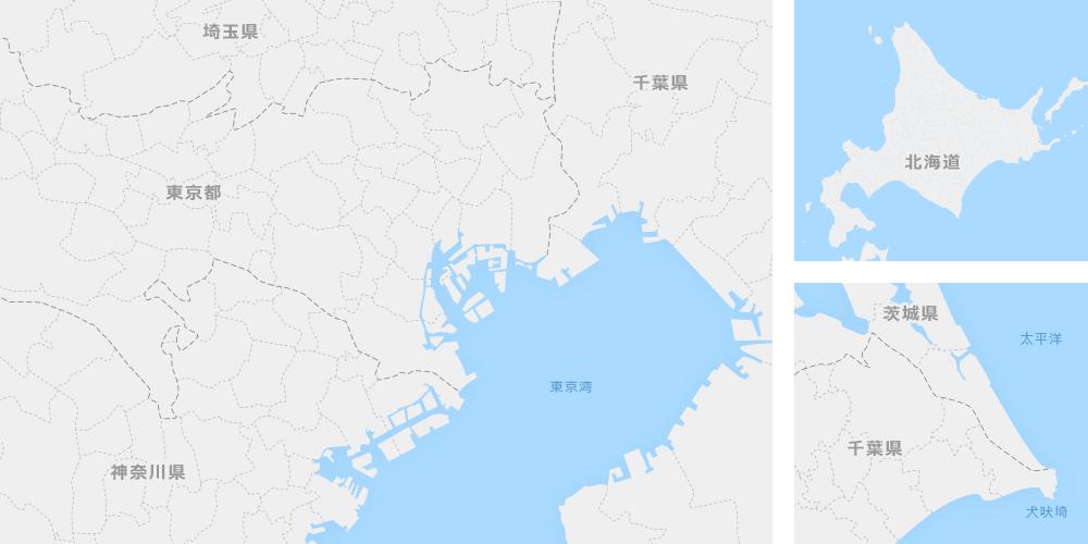 スクール所在地図