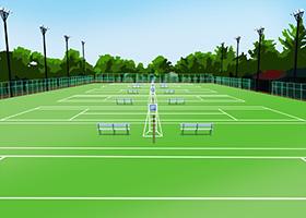 公営のテニスコート、私営のレンタルコート