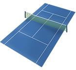 テニスコート(テニスをする場所)